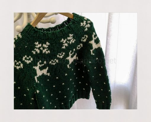 Rebeca Chritsmas Sweater By Socksandco